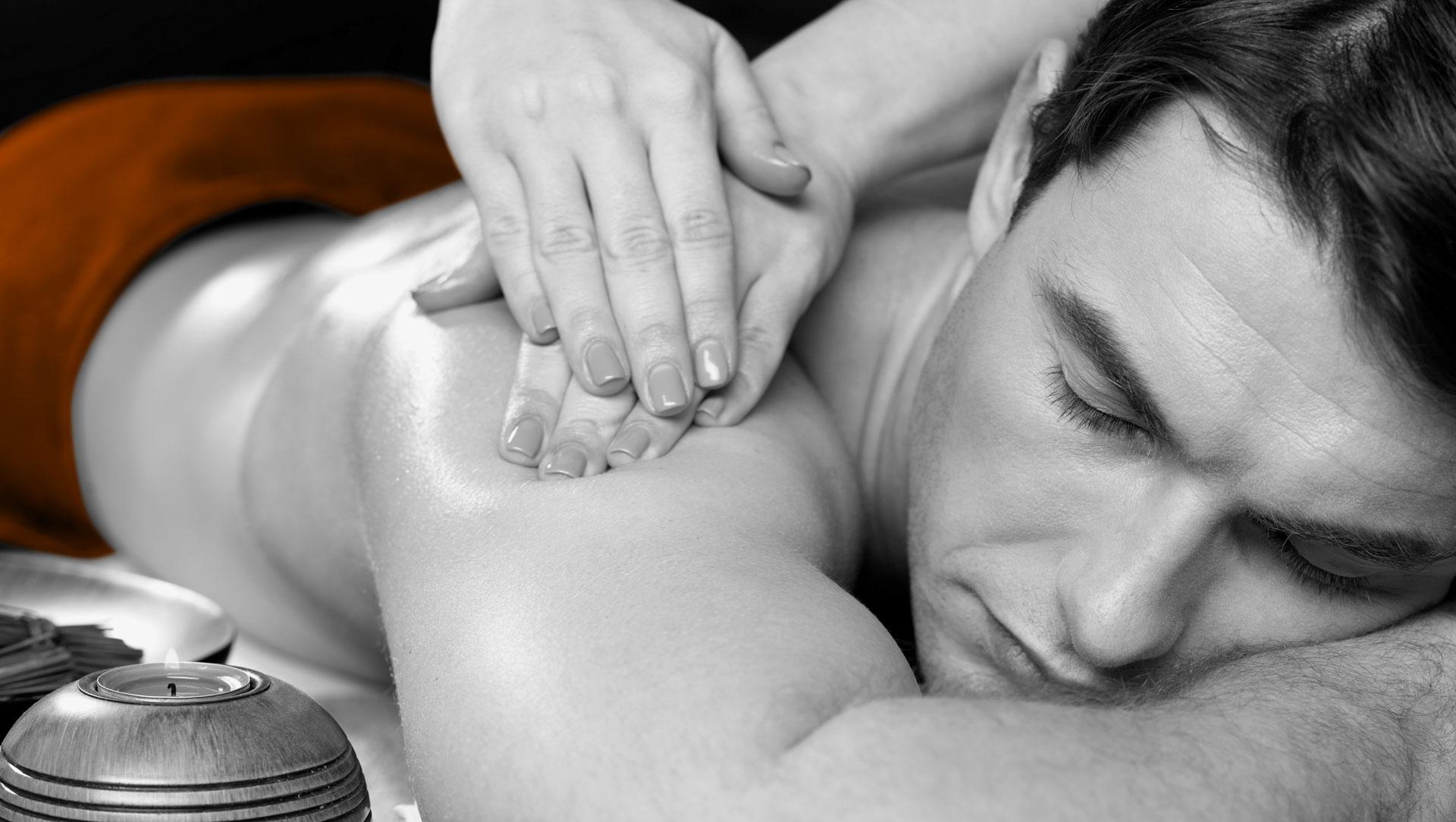 Premium Werbefläche: Top Massage